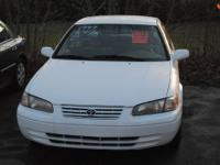 1999 Toyota Camry has a 4 cylinder engine with an