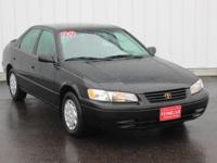 Options:  1999 Toyota Camry Le|Black|Full Exterior &