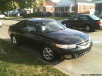 1999 Black/black leather 2 door Solara, clear title