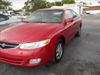 Options Included: N/A1999 TOYOTA SOLARA SE 2DR COUPE