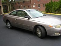 HERE IS A 1999 TOYOTA CAMRY SOLORA COUPE 2 DOOR