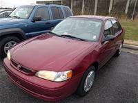 1999 Toyota Corolla CARS HAVE A 150 POINT INSP, OIL