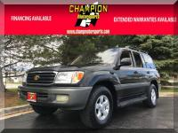 Options:  1999 Toyota Land Cruiser 4Dr 4Wd|Champion