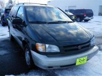 New Inventory... This Green 1999 Toyota Sienna is