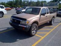 FUEL EFFICIENT 21 MPG Hwy/18 MPG City! Tacoma trim,