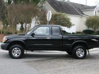 1999 Toyota Tacoma Extra Cab SR5 edition with the