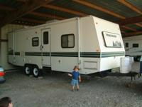 26' Tracker Travel Trailer with slideout. Bought this