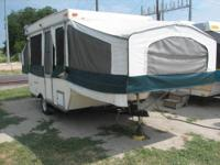 I have for sale a nice 1999 Tracker Pop-Up Trailer.