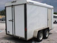 1999 Transport Enclosed Trailer - 6 x 12 About Us