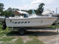 For sale is a 1999 19? Trophy center console in great