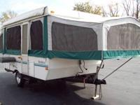 1999 VENTURE BY STARCRAFT POPUP CAMPER SLEEPS 6 CLEAN