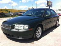 TOP OF THE LINE VOLVO S80 T6. 2.8L TWIN TURBO CHARGED