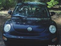 We are selling our 1999 VW Beetle. It is black. We