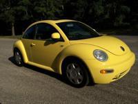 1999 Volkswagen Beetle, 74,180 miles. Price: $4,700.