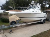 1999 Wellcraft 270 Coastal with a pair of OMC 150 Ocean