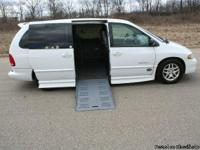This is a 1999 Wheelchair Accessible Dodge Grand