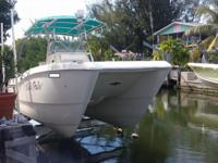 Great Fishing boat with two 2005 200 horsepower Suzukis