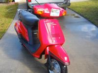 This is a spick-and-span 1999 Yamaha Riva 125cc 4