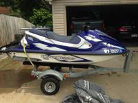 1999 Yamaha GP 800 WaveRunner with trailer and cover