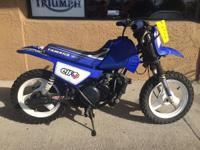 Air-cooled 2-stroke. Motorcycles Off-Road. 1999 Yamaha