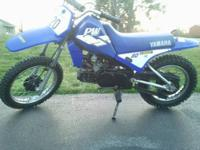 Up For sale is my sons dirt bike he has outgrown. Bike