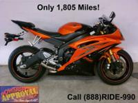 1999 Yamaha R-6 Sport Bike - For sale only $3,999!!