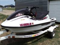 1999 Yamaha XL 1200 Waverunner with Trailer. This is a