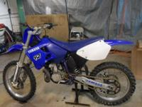 strong running 2 stroke bike. new rear sprocket and