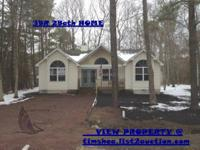 This is a 3 BR 2 Bath house in Ocean Pines, Md. It has