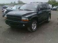 Durango 99 4x4/4x2 318 Auto and 2001 4X4 4.7L Call us