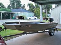"1999 14x50""bottom alumacraft allwelded rare boat-1996"