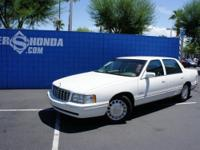 1999 Cadillac Deville Sedan Our Location is: Honda of