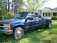 For Sale 1999 CHEV 1 TON $4500.00 CALL  Location: jakin