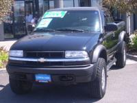 Options Included: N/A4 wheel drive Chevy S10 Pickup for