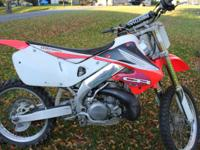 Hello, I have a 1999 cr250r for sale. It's a nice clean