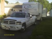 1999 Dodge Ram 3500 Dual RR Wheel. Diesel 4x2 5sp PS PB