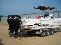 Comments: Very Clean offshore fishing boat, fast,