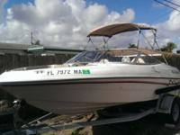 A fun, sporty runabout for the family. Engine is a