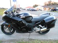 Clean all black CBR1100XX with just 11 800 miles on it.