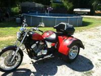 1999 Honda Shadow Trike Custom. This 1999 Honda Shadow