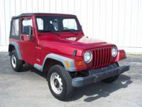 Options Included: N/AWrangler SE, 2D Sport Utility, and