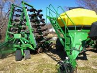 1999 JOHN DEERE 1860, 36''1860 air drill with