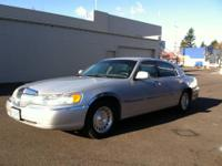 1999 Lincoln Town Car, 4 Door, Automatic Transmission,