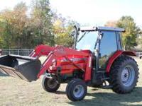 1999 Massey Ferguson 4253 Cab & air, 1300 hrs Front end