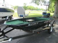 1999 Polar Kraft Bass Boat Bass America 16 Ft - $3,495