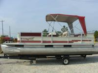 1999 SPORTING ACTIVITY by CREST 22' PONTOON.  * JOHNSON