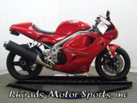 1999 Triumph Daytona 955I with 7,852 Miles. This is a