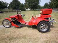 Factory Built VW Trike. Vcycle/Trike Shop May Trade.