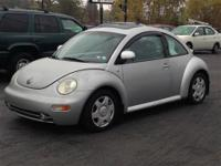1999 Volkswagen New Beetle, FWD, GLS, 2 door, with