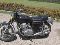----this is a genuine CB750 sandcast motorcycle. The